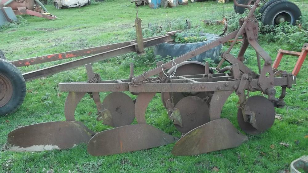 Ransomes 3 Furrow Plough