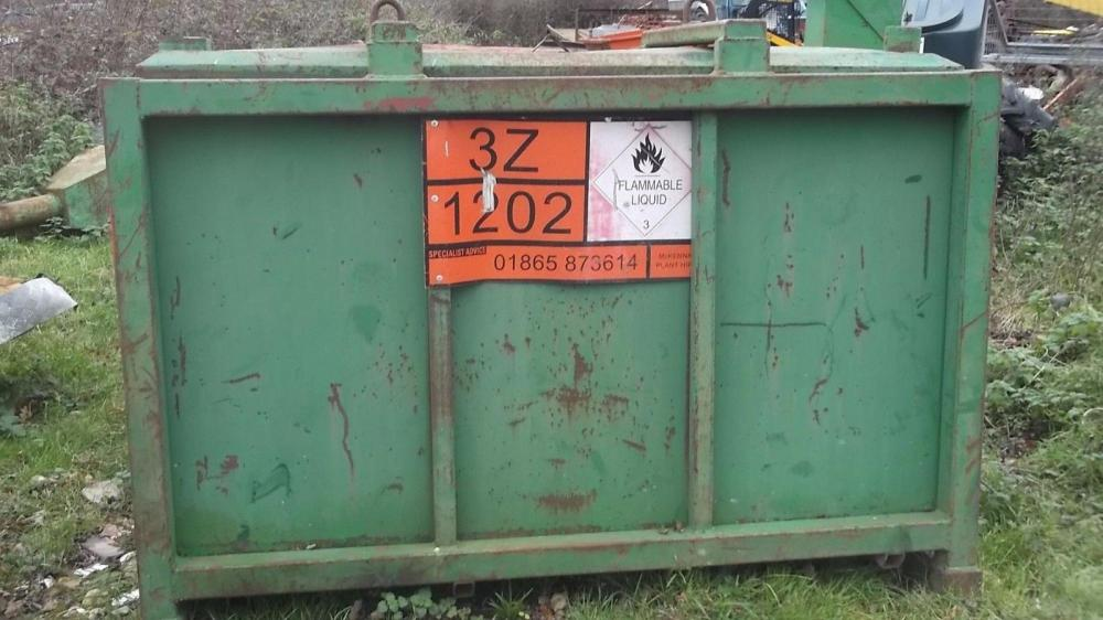 Large green diesel tank £350 plus vat £420