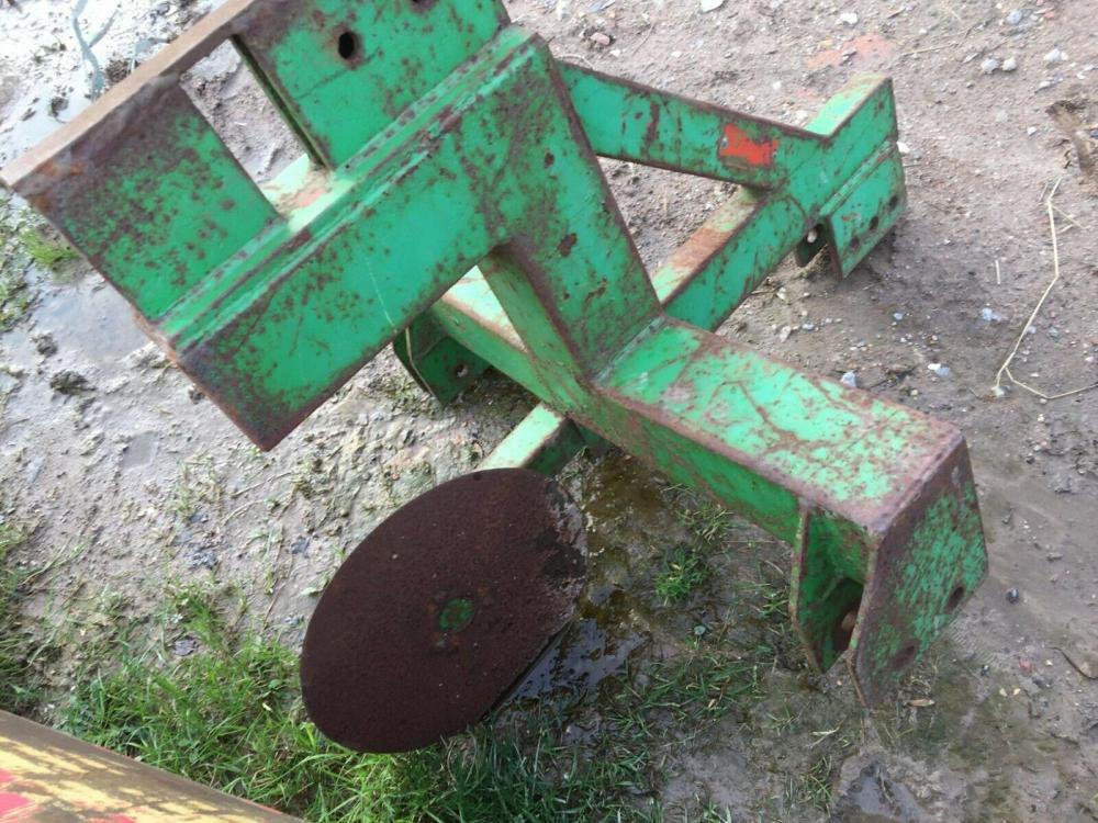 subsoiler / mole plough - compact tractor £550 plus vat £660