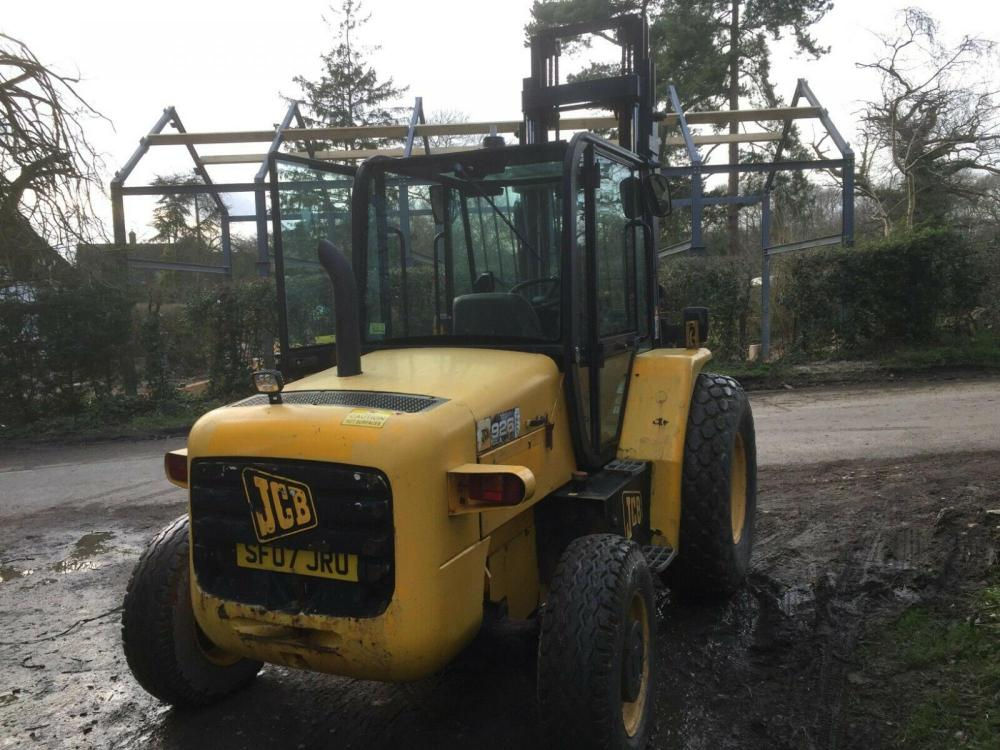 JCB 926 Forklift - 2007 - Rough Terrain - £8950 plus vat £10740 inc VAT