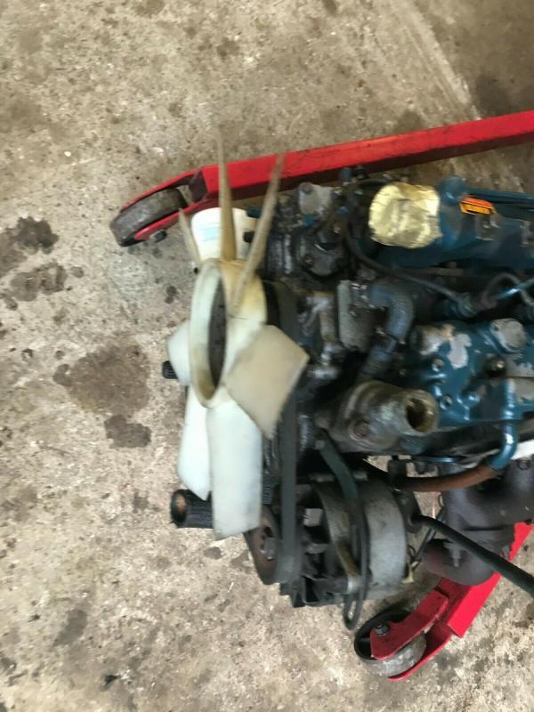 Kubota Engine 1902 diesel - complete - £1000 plus vat £1200