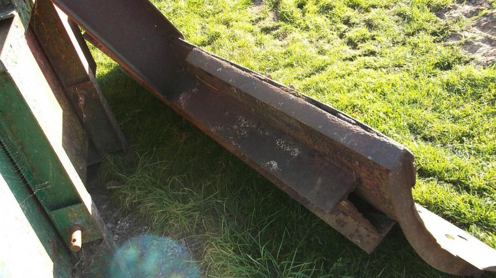 levelling scraper £300 plus vat £360