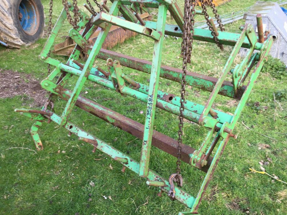 Dutch harrow for compact tractor £580 plus vat £696