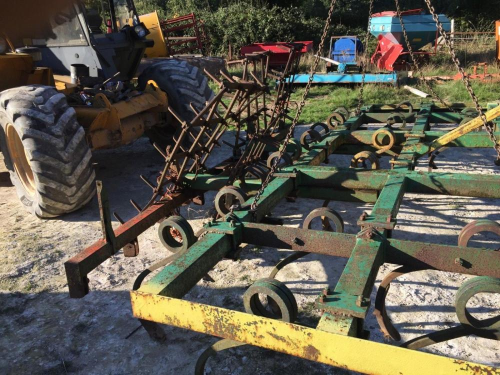Heavy Duty Pig Tail Cultivator and harrow 4 metre £750 plus vat £900