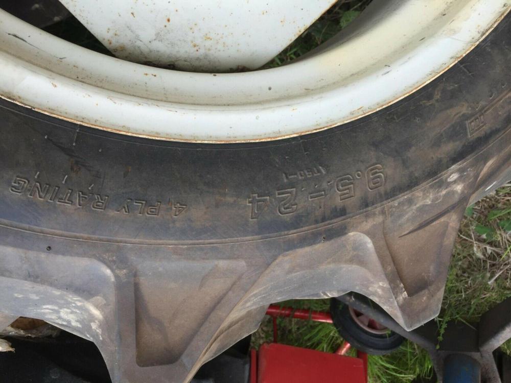 Tractor Tyres 9.5 - 24 - Japanese £350 plus vat £420