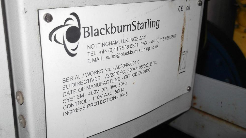 High output fan system £750 plus vat