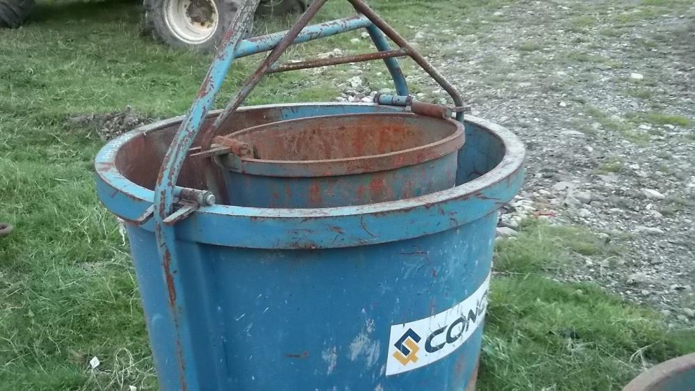 Conquip Skip Buckets