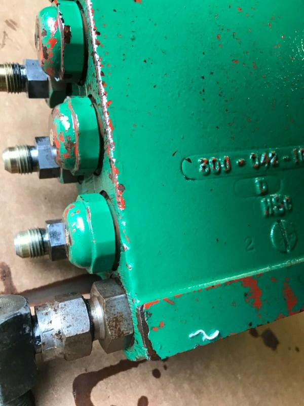 Ransomes 350Diesel 5 gang mower hydraulic up down control cutting cylinders £120