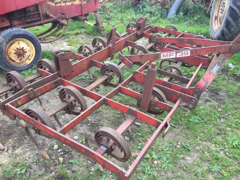 Massey Ferguson cultivator 10ft £390