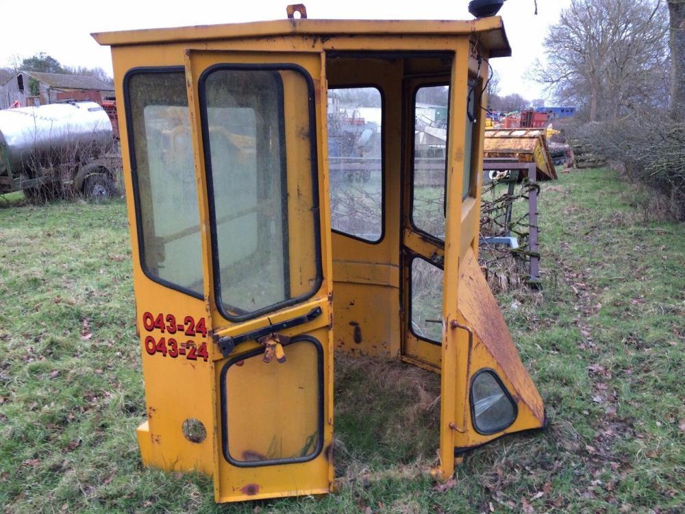 Machinery Cab £350 plus vat £420