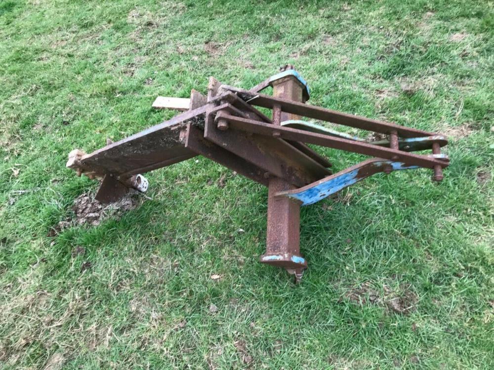 Single Leg Mole Plough - subsoiler - Ford Ransomes £570 plus vat £684