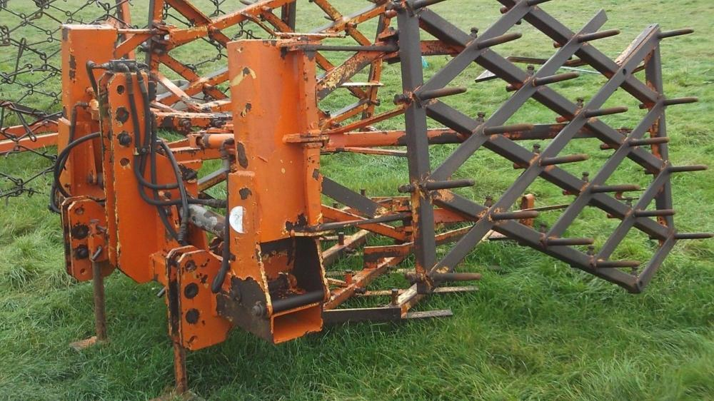 Wilder four section pressure harrow £700 plus vat £840