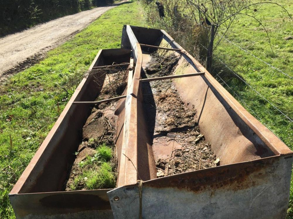 Feeding Troughs 15 foot repair £80 plus vat £92