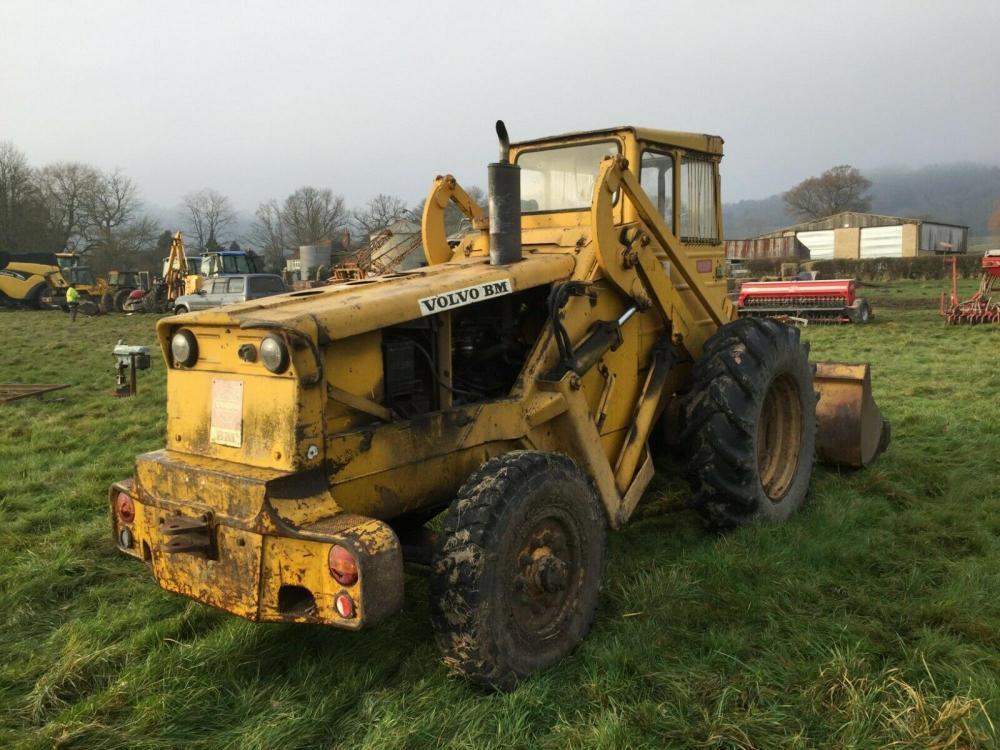Volvo BM Loading Shovel £3950 plus vat £4740